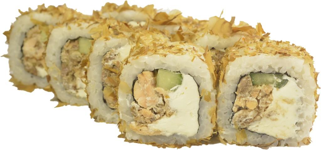 Бонито с жареным лососем - 0