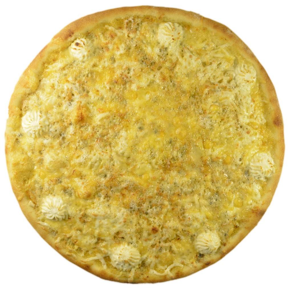 Четыре сыра 35 см - 0