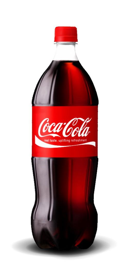 Кока-кола 1л - 0