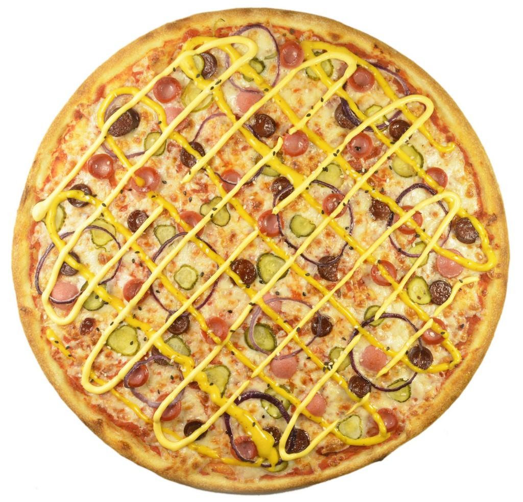 Хот-дог-пицца