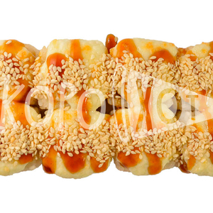 Ролл запеченный с креветками